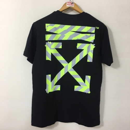 Off-White 19SS Reflective Warning Line Tee [HOP Batch]
